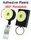 Easy Set-Up Display Reels: Adhesive Reels With Retractable Function