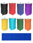 "5/8"" Heavy Duty and High Quality Flat, Plain Color Polyester Straps."